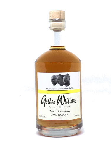 Golden Williams - auf Birnenschalen gelagerter Williams 0,5l