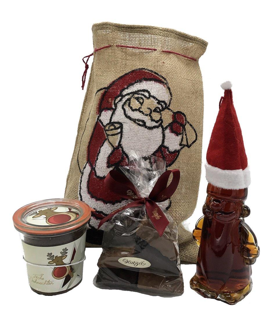 gef llter jutesack zu weihnachten merry christmas. Black Bedroom Furniture Sets. Home Design Ideas